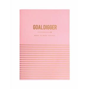 Osobní plánovač Portico Designs Goal Digger