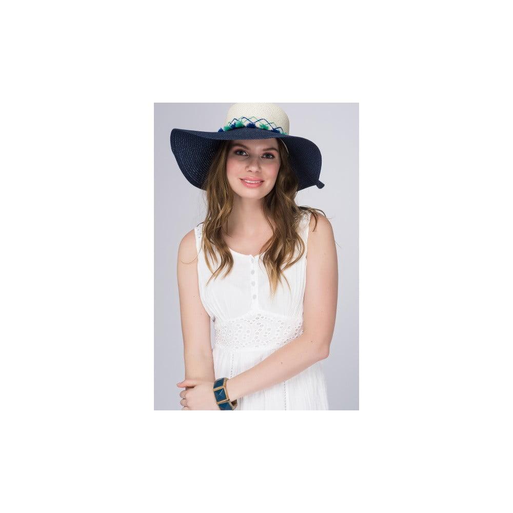 Tmavě modrý letní klobouk z čisté bavlny NW Summer Party  c31d3430a3