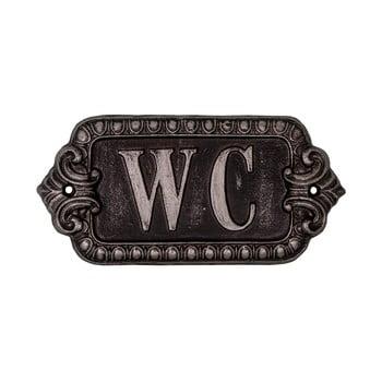 Simbol metalic pentru toaletă Antic Line Plaque,lungime 17,5cm