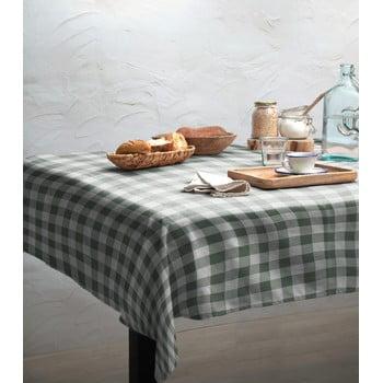 Față de masă Linen Couture Green Vichy, 140 x 200 cm imagine