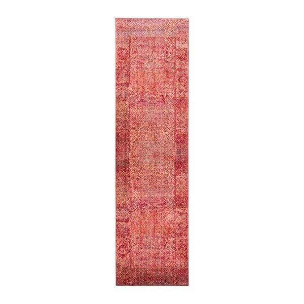 Covor Safavieh Lulu Vintage, 243x 68 cm, roșu - roz