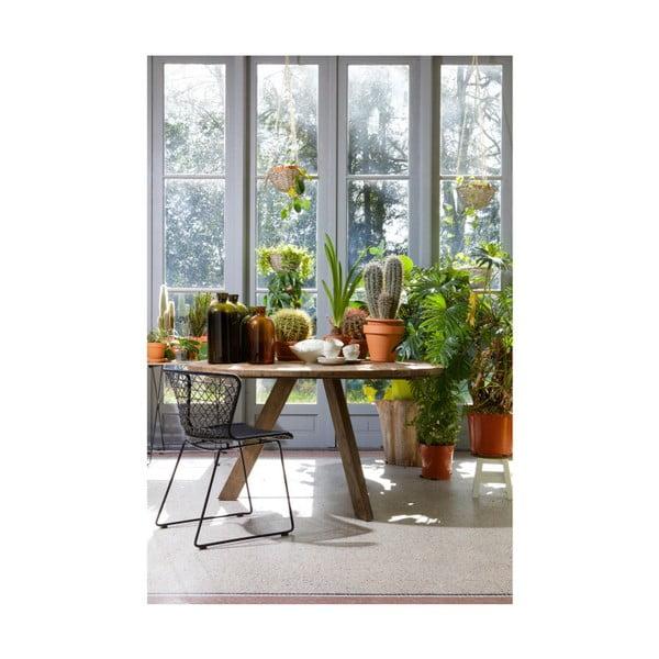 Jídelní stůl z jilmového dřeva De Eekhoorn Tondo, ⌀140cm
