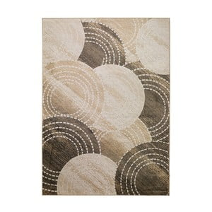 Hnědo-béžový koberec Universal Belga, 70x110cm