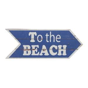 Dřevěná cedule Artesania Esteban Ferrer To The Beach