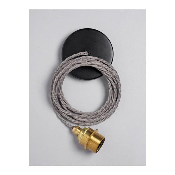Závěsný kabel Brass Elephant Grey