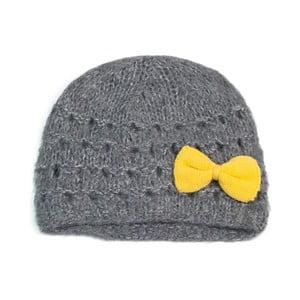 Čepice Bow Yellow