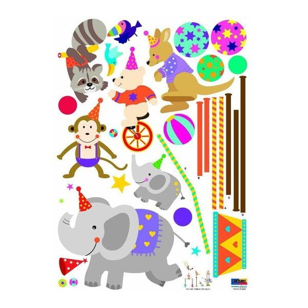 Samolepka Circus animals