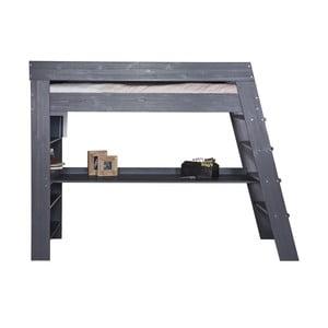 Patrová postel s pracovním stolem Julien Steelgrey