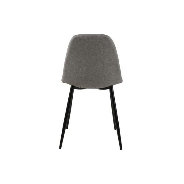 Jídelní židle Wilma, světle šedá