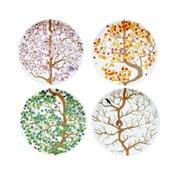 Set 4ks talířů Four Seasons