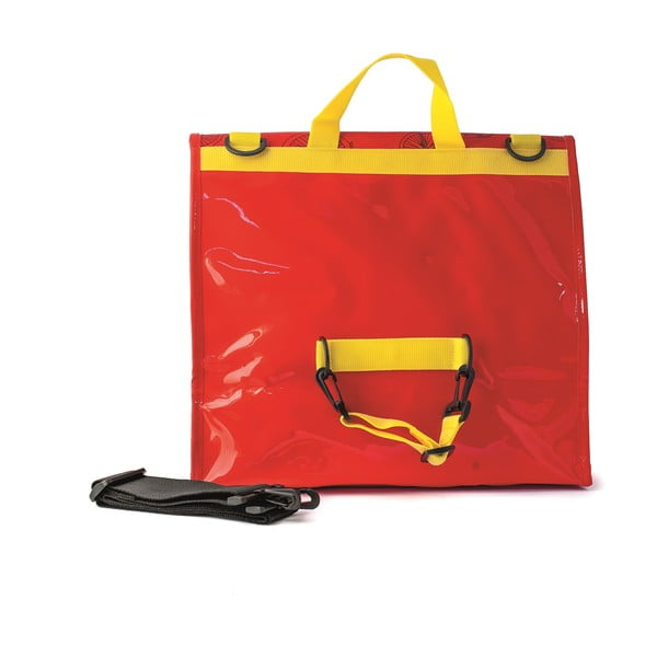 Messenger taška na kolo I ♥ Bicicleta, červená