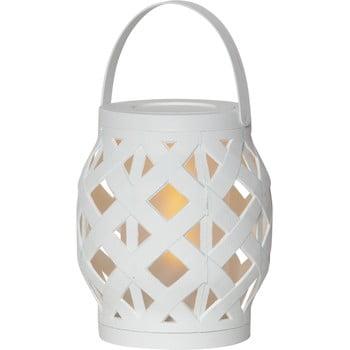 Felinar Best Season Flame Lantern, 14 x 16 cm, alb imagine