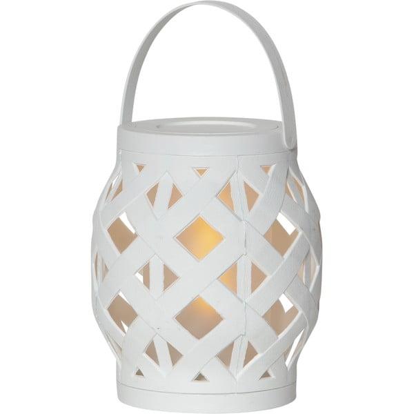 Felinar Best Season Flame Lantern, 14 x 16 cm, alb