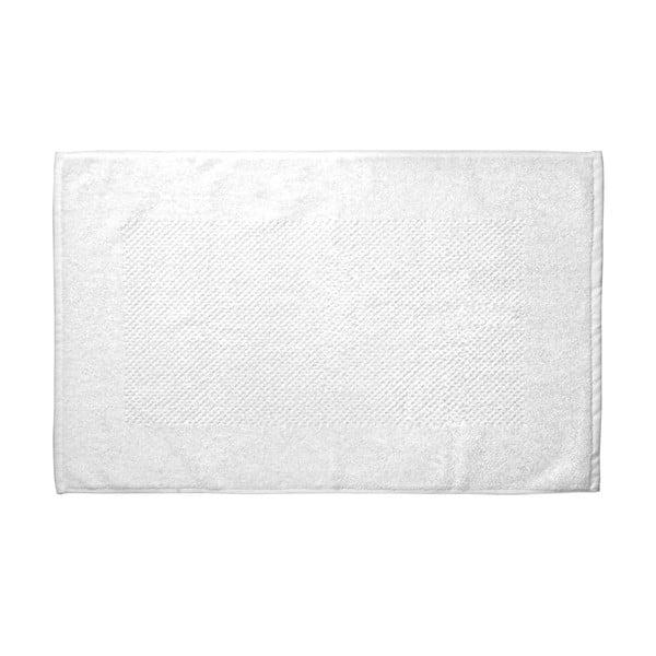 Bílá koupelnová předložka Galzone 80x50 cm