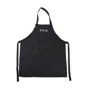 Černá zástěra BBQ