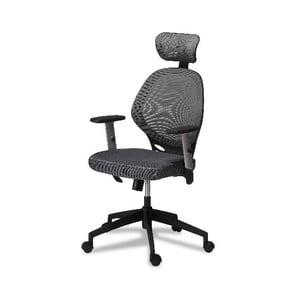 Šedá kancelářská židle Furnhouse Maze