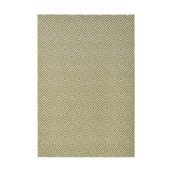 Karo zöld kültéri szőnyeg, 140 x 200 cm - Bougari