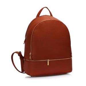 Hnědý batoh L&S Bags School