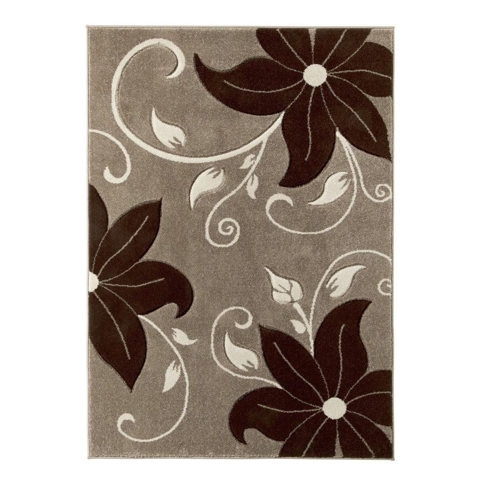 Béžovo-hnědý koberec Think Rugs Verona, 60 x 120 cm
