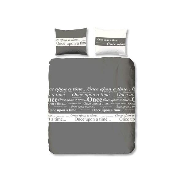 Povlečení Once,Grey, 140x200 cm