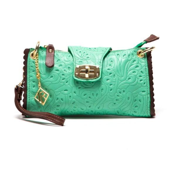 Kožená kabelka Isabella Rhea 2024 Verde
