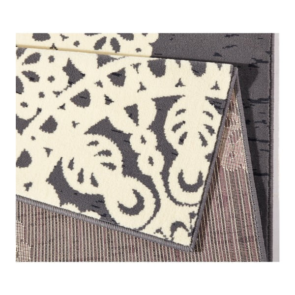 Šedý koberec Hanse Home Gloria Lace, 120 x 170 cm