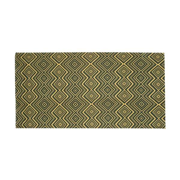 Vysoce odolný kuchyňský koberec Webtappeti Hellenic Green,60x150cm
