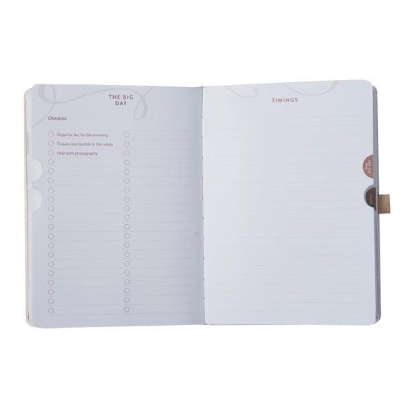 Kniha pro družičky BusyB Wedding Planner