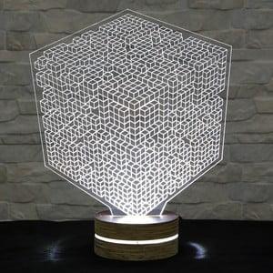 3D stolní lampa Squares