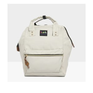 Světle krémový dámský batoh Mori Italian Factory Cansa