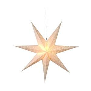 Stea luminoasă din hârtie Best Season Sensy, 70 cm, galben