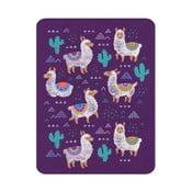 Dětský koberec OYO Kids Llama Adventures, 100 x 140 cm