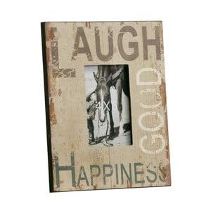Fotorámeček Laugh, Good, Happines, 23x28 cm