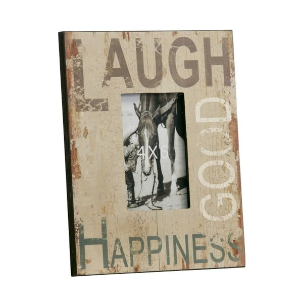 Fotorámeček Laugh, Good, Happines, 23x28 cm
