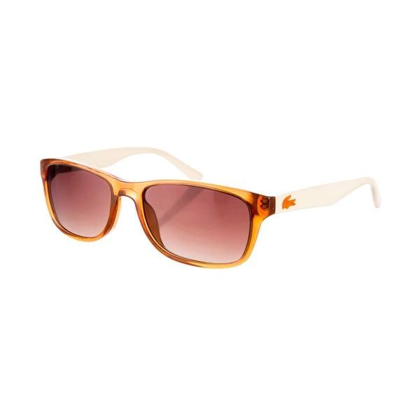 Dětské sluneční brýle Lacoste L360 Marrón/Crema
