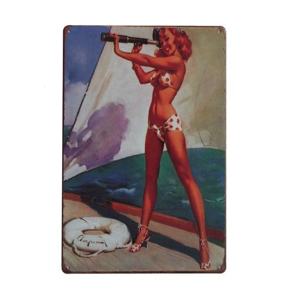Cedule Sailor, 20x30 cm