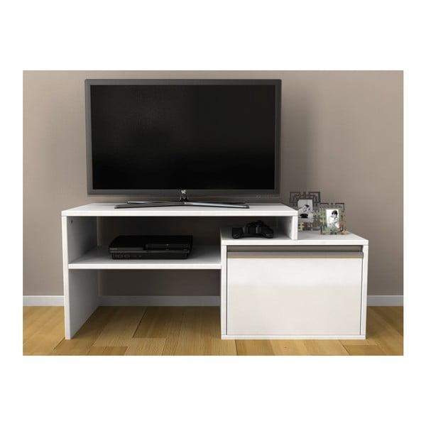 Televizní stolek Torino White
