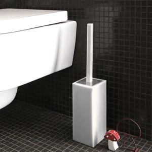 Nerozbitný toaletní kartáč Portascopino, bílý