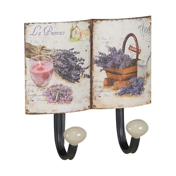 Sada 2 kovových věšáků Lavender