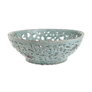 Bol din ceramică InArt Boho Kasi,verde