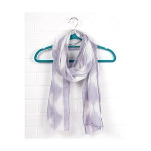 Šátek Diamond Ikat Lilac