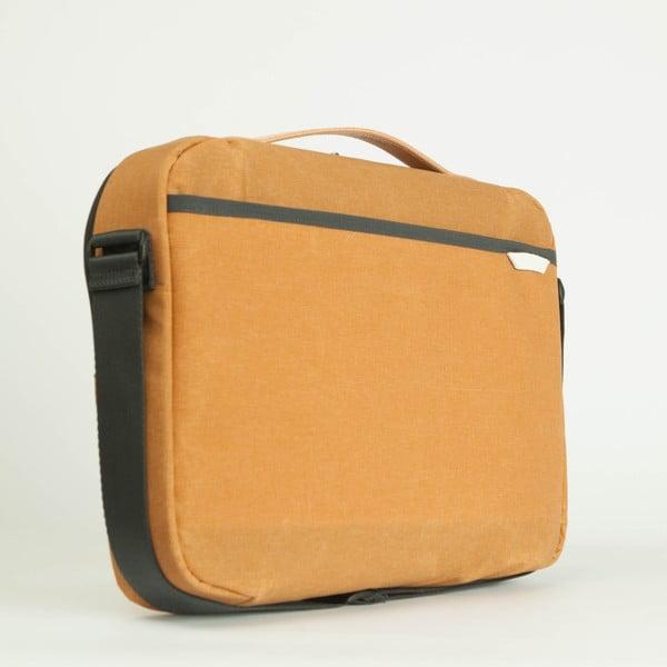 Taška/obal na notebook R Brief 100 Kodra, mustard