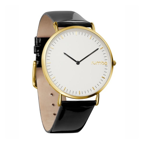Dámské hodinky SoHo Patent Leather Gold Lights Out