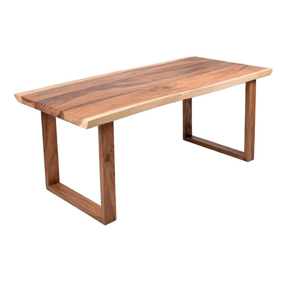 Dřevěný zahradní jídelní stůl ADDU Davao, 200 x 100 cm
