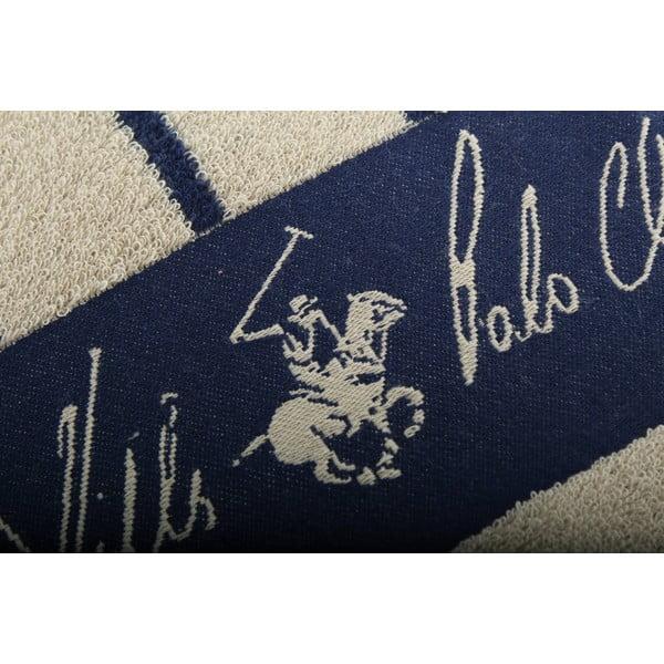Bavlněná osuška BHPC 80x150 cm, béžovo-modrá