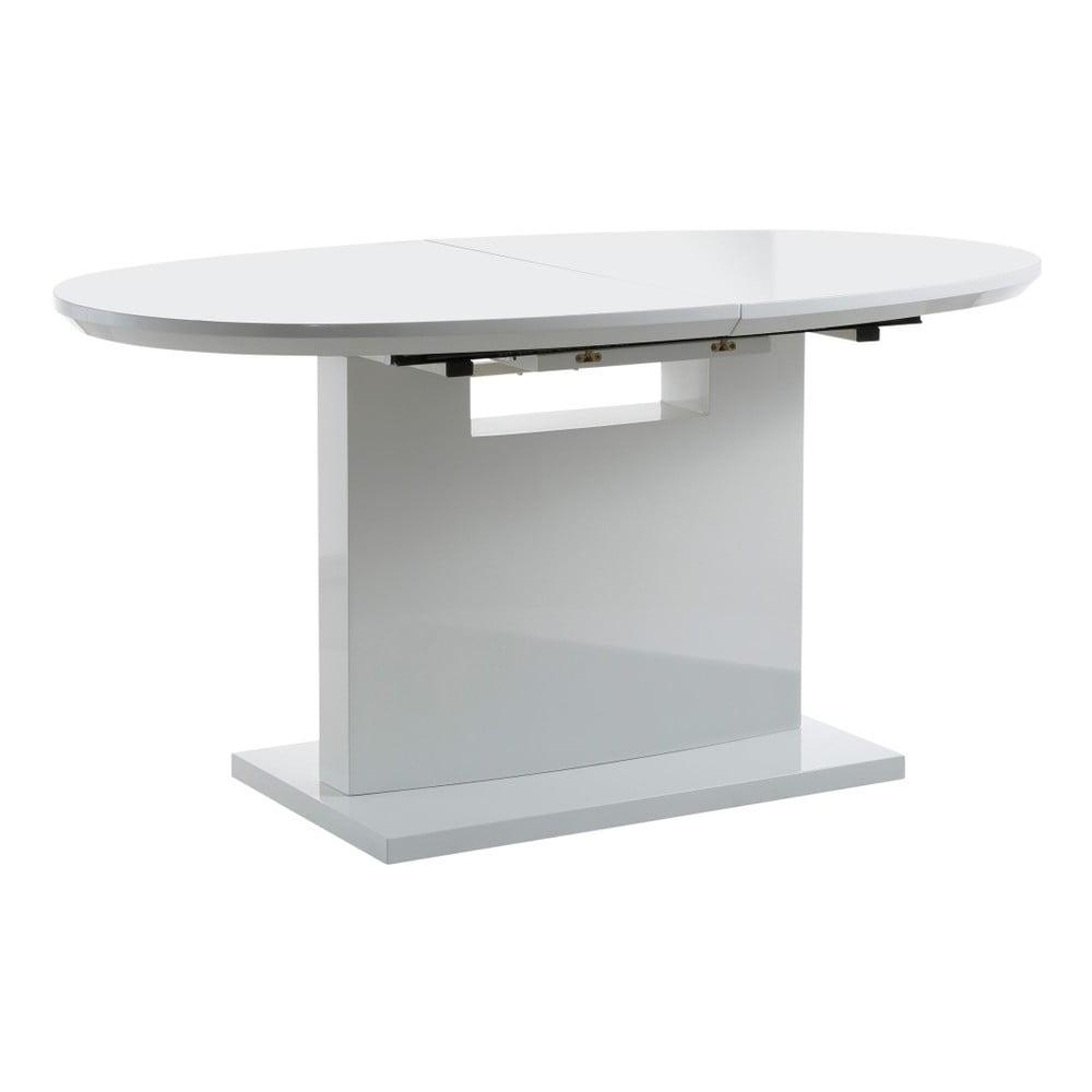 Bílý rozkládací jídelní stůl Støraa Courtney, 160 x 90 cm