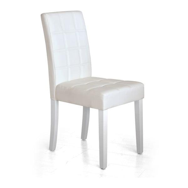 Jídelní židle Yari, bílá