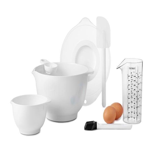 Biely 7-dielny set na pečenie Rosti Mepal Margrethe