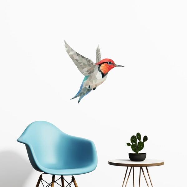 Autocolant Fanastick Origami Colibri