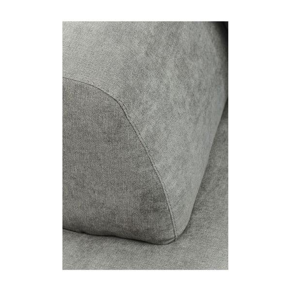 Šedá rohová pohovka Kare Design Pablo Grande, levý roh